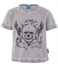 BOYS GREY OIL WASH T-SHIRT FROM EMMA BUNTON COLLECTION BNWT AGES 4 TO 7 YEARS