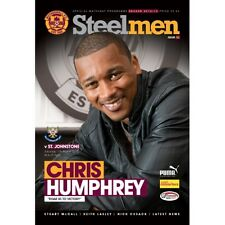Motherwell 2012-2013 Home Programmes