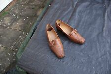 Real Tan Leather Shoes by Van Dal Classic Timeless Style Size 4 D Hamilton