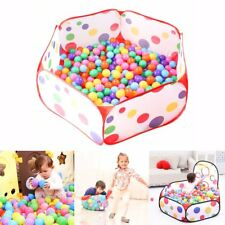 Portable Pit Ball Pool Kids Outdoor Indoor Baby Tent Play Hut Have Foldable Fun