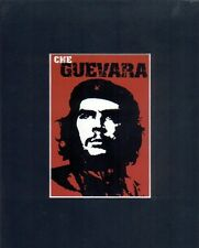 New Red Che Guevara Revolutionary Icon Matted Print Mini Matted Print