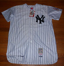 Nwt Mens Mitchell & Ness Dimaggio Cooperstown Pinstripe Collectibe Jersey 3XL