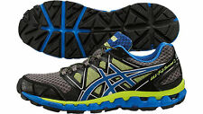Mens asics GEL Fuji Sensor 2 Off Road Trail Running Jogging Sports Trainers 11.5