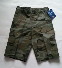 DICKIES Boys' KR416 Relaxed Fit Camo Ripstop Cargo Shorts 8 10 12 14 16 18 NWT