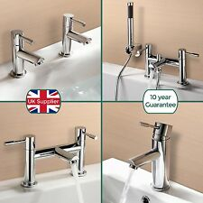 BLOSSOM SINK BASIN MONO BATH FILLER BATHROOM SHOWER MIXER TAP CHROME SOLID BRASS