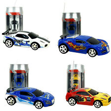 Durable Coke Can Car Mini Radio Remote Control Micro Racing RC Toy Car Gift AU