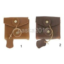 Leather Storage Bag Cover Pouch Case for Charger Adapter Cable Headsets Coin