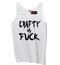 Crafty As F*** Funny Mens Tank Top Creative Girlfriend Sister Mom Gift Tank Z3