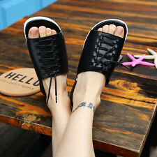 Fashion Men's Summer Beach Loafers Shoes Open Toe Flat Slippers EU 39-44