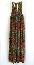 Vtg 70s Mod Psychedelic Halter Maxi Empire Dress Free Spirit Boho Hippie People