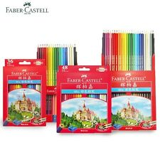 Faber Castell 12-72 Pcs Pencil Drawing Sketch Pencils Book Coloring Oil Colored