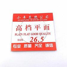 1.2mm Thick Flat Watch Crystal 16mm-40mm Mineral Glass Watch Parts 10pcs/Lot