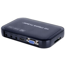 Full HD 1080p H6w Multi-Media Player HDMI/VGA/AV Outputs SD&USB 2.0 Reader Kit