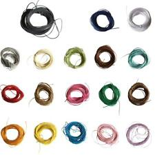 10m Waxed Nylon String DIY Bracelet Necklace Making Jewelry Cord Thread 1mm