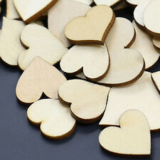 50Pcs Mixed Butterfly Flower Heart Wood Buttons DIY Scrapbooking Sewing Sanwood