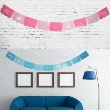 It's a BOY or Girl Paper Bunting Banner Baby Shower Christening Hanging Sign