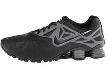 Nike Shox Turbo 14 Black Dark Grey Mens Running Shoes Kicks 631760 015