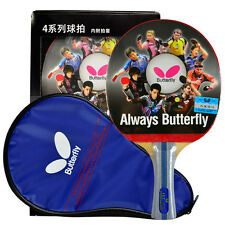 Japan BUTTERFLY 4 Star 402 Table Tennis Racket Long/Short Handle PING PONG