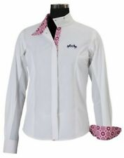 Equine Couture Kelsey Children's Short Sleeve Show Shirt with Coolmax Fabric