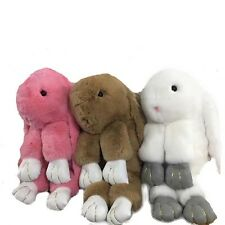 50cm 100% Real Rex Rabbit Fur Big extra larg Cute Soft BunnyToy Baby doll Gift