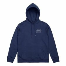 Hoodie Brixton Dale Mens Light Navy