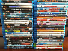 BLU-RAY MOVIE COLLECTION LOT! OVER 45+ TITLES TO CHOOSE FROM! CASE INCLUDED!