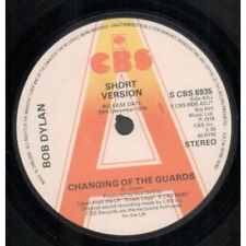 """BOB DYLAN Changing Of The Guards 7"""" VINYL UK Cbs 1978 Promo Featuring Short"""