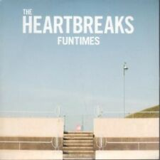 HEARTBREAKS Funtimes CD European Nusic 2012 10 Track Promo In Card Sleeve
