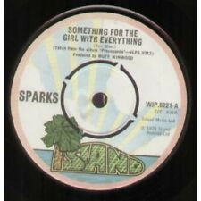 """SPARKS Something For The Girl With Everything 7"""" VINYL UK Island 1974 B/W Marry"""