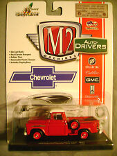 M2 MACHINES AUTO-DRIVERS 1958 CHEVY APACHE STEPSIDE RED 1:64