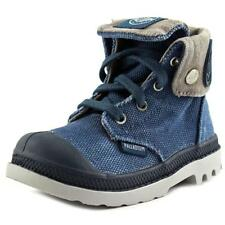 Palladium Baggy Zipper Youth  Round Toe Canvas  Boot