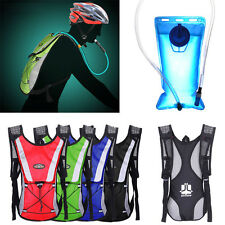 Outdoor Water Bladder Bag Backpack Hydration Pack Camelbak Hiking Camping 2L lot
