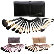 Fashion High Quality 20Pcs Professional Makeup Brush Set Light Pouch Brushes