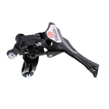 MTB Mountain/Road Bike Bottom/Top Pull Front Derailleur 31.8mm Clamp Black