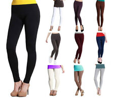 Authentic NIKIBIKI Womens Full Length Long Seamless Smooth Leggings REG & PLUS