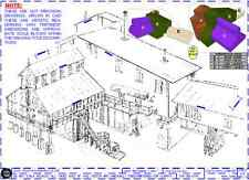 """Ore Mine - HO, S, O, #1, G, F, 1"""" any Scale Plan-Set Drawings for the RR Modeler"""