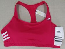 ADIDAS Women's CLIMACOOL Sports Exercise Racerback Bra Pink S, M, L, XL NEW