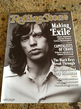 """ROLLING STONE MAGAZINE """"MAKING EXILE"""" MICK JAGGER AND KEITH RICHARDS"""