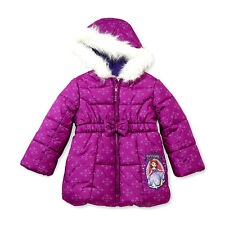 Disney Sofia the First Hooded Puffer Jacket size 3T or 4T New w/Tags