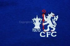 Chelsea FC 1970 FA Cup Final shirt badge photograph picture poster art print