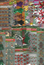 U CHOOSE  Assorted CHRISTMAS FALL HALLOWEEN VALENTINE & EASTER CRAFTS Stickers
