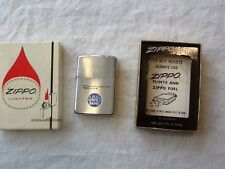 NEW VTG ZIPPO ADVERTISING LIGHTER Community Bank NIB  NEVER USED ORIGINAL BOX