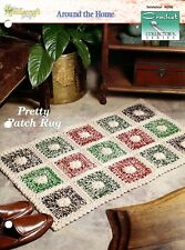 Pretty Patch Rug, Crochet Collector's pattern