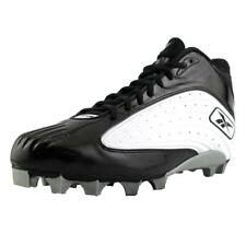 Reebok NFL Outsidespeed Mid M Men  Round Toe Synthetic Black Cleats