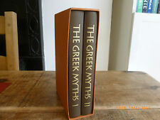 Robert Graves THE GREEK MYTHS 2 Vol Set Folio Society in slipcase Hbk Vgc 2001