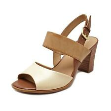 Naturalizer Lahnny Women  Open Toe Synthetic Tan Sandals NWOB