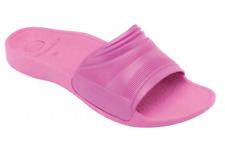 SCHOLL ARTESIA NEW CANADIAN BIOMECHANICS PINK PATENT MULES SANDALS - SEE SIZES