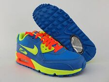 NIKE AIR MAX 90 (BG)  Women's Youth Running Shoes Brand New with Box 307793 410