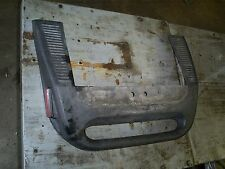 1996 skidoo mach z 780 rear bumper cover with reflectors