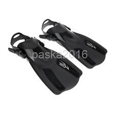 Pro Short Fins Flippers Full Foot Shoes for Scuba Diving Swimming Snorkeling New